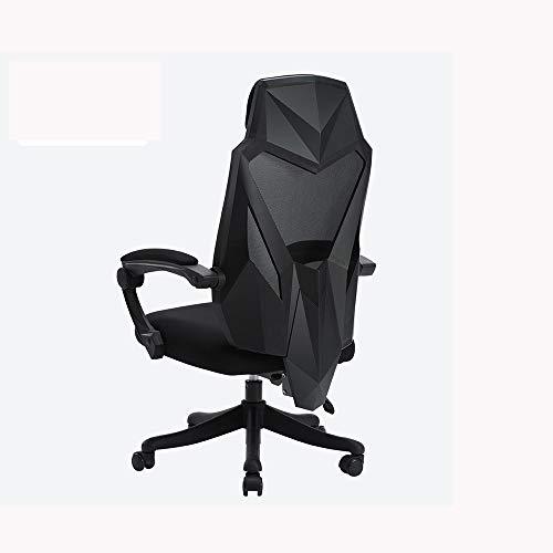 LJJOO Silla de juego for computadora, silla de carreras, silla con respaldo elevable, silla de...