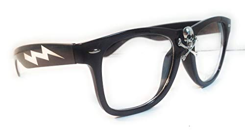Wild Thing Rick Vaughn Skull Glasses
