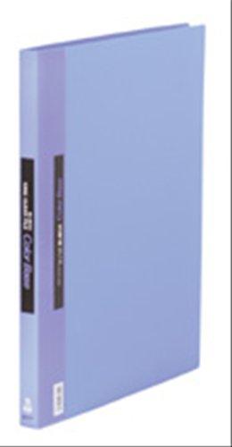 キングジム クリアーファイル カラーベース 差替式 B4S 149 青