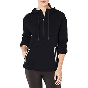 Amazon Essentials Women's Fleece Lined Pullover Hoodie Anorak