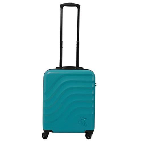Maleta de Cabina de 4 Ruedas, Maletas de Mano rígida Azul 55x34x20 TOTTO - Bazy