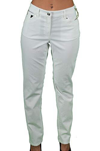 Zerres Damen-Jeans Sarah in weiß Größe 44