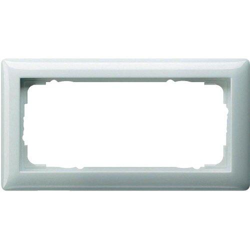 Gira Rahmen 2f.rws-gl 100203 o. Mittelsteg Standard 55 Abdeckrahmen 4010337001607