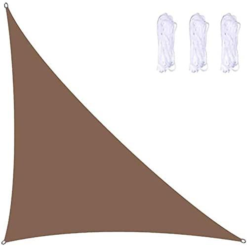 WANLN Shade Sails wasserdichte Hochleistungs-rechtwinklige 98% UV-Block-Markisenabdeckung für den Garten im Innenhof