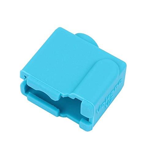 ZJF Componentes de la computadora Accesorios eléctrico Cubierta de la Caja de Silicona de halicona de 24 * 20 * 11.5mm para la Parte de la Impresora 3D (Color : Blue)