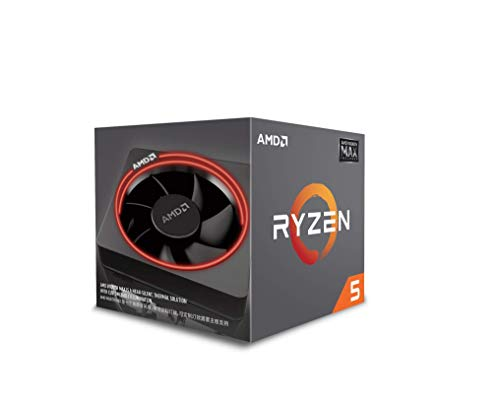AMD Ryzen 7 processor. alleen de processor Ryzen 5 2600X MAX zwart