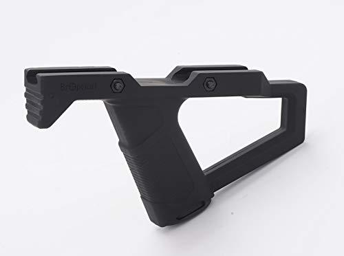Broptical オリジナル エルゴノミック フォアグリップ ver1 タクティカルグリップ バッテリーケース付 サバゲー MP7A1/m4/m16/HK416