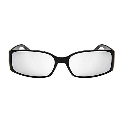 MERICAL Occhiali da sole alla moda leggeri unisex - Lente polarizzata a specchio Occhiali da sole a scatola