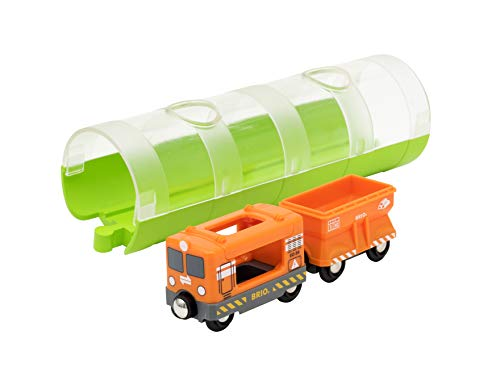 BRIO Bahn 33891 - Tunnel Box Frachtzug