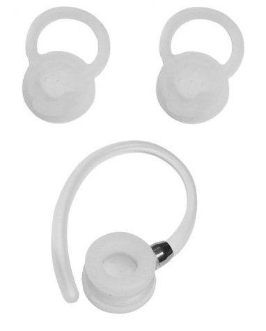 OEM Motorola 3 Sizes Replacement Earbuds Tips Ear Gels Bud Cushions and 2 Ear Hooks for Hx550 Hz720 H19txt H17txt H17 H525