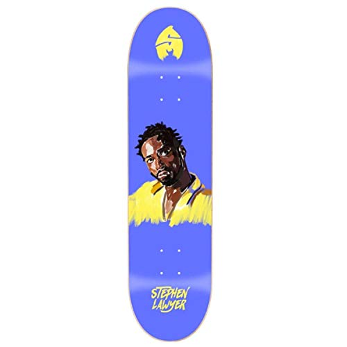 Sk8mafia Stephen Lawyer 4EVA 8.25'x32' Deck Skateboard, Adulti Unisex, Multicolore (Multicolore)