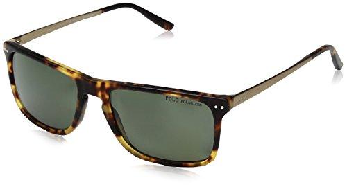 Ralph Lauren POLO 0PH4119 Gafas de sol, Tortoise Jerry Vintage, 56 para Hombre