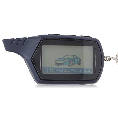 Control remoto, LCD automático Control remoto Multifunción Sistema de alarma antirrobo de 2 vías para automóvil Universal