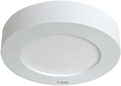 roblan moonr2558bc downlight spot Surface, 18W, Blanc