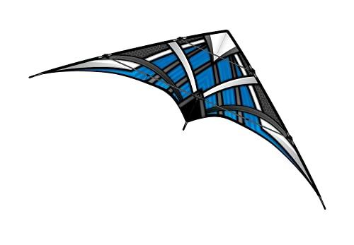 WindNSun NK93 Blue Ripstop Nylon Dual Control Stunt Kite 72451