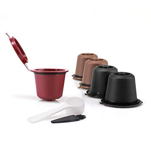 MG Coffee Food-Grade Reusable Nespresso Capsule Permanent Coffee Pod Holder for Nespresso Original Line Machines with gifts
