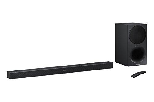 Samsung HW-M450/ZF - Barra de sonido inalámbrica con 320 W de potencia, color negro