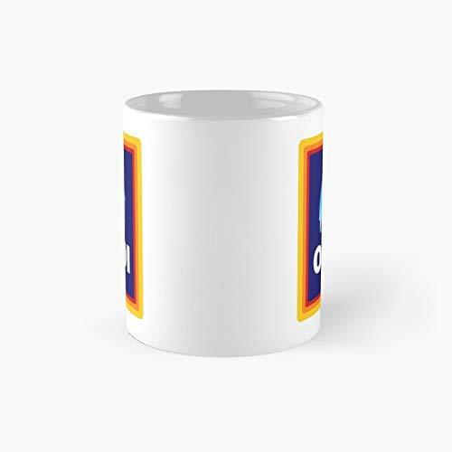 Funny Novelty Oldi – Taza clásica de cumpleaños de Navidad | El mejor regalo tazas de café de 325 ml