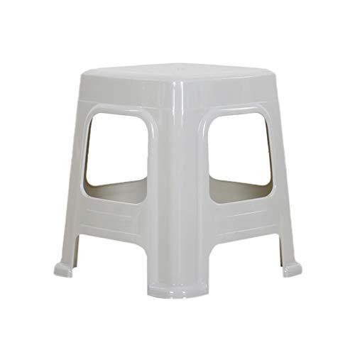 Im Freien stapelnder Schemel, verdicken Sie die starken stapelnden Schemel-Ausgangsschemel, die Stuhl-Lernhocker-Schemel-Badezimmer-Schemel speist (Farbe : Grün, größe : 34cm)