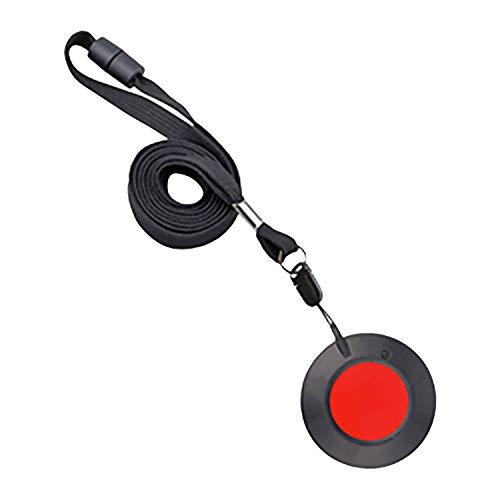 Easywave RT275001E01 Halsbandsender RT27 anthrazit, rote Taste, Mehrfarbig