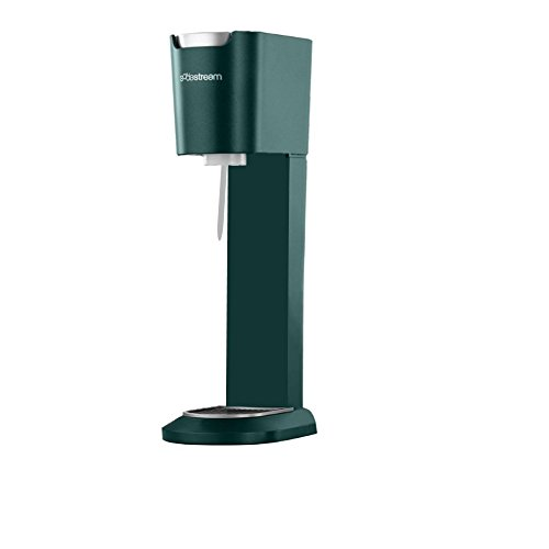 SodaStream Genesis Home Sparkling Water Soda Maker, Green, with 3oz CO2 Carbonator (carbonating bottles not included)