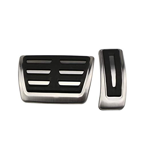 ZXC El Coche Deportivo Pedales for Audi A4 B8 A6 A7 A8 S4 RS4 A5 S5 RS5 8T Q5 8R SQ5 Combustible Freno del reposapiés Cubierta del Pedal Accesorios for automóviles Atmósfera Simple