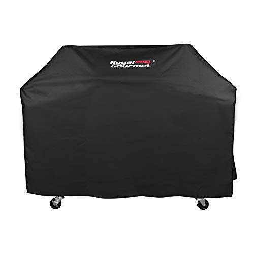 Royal Gourmet CR7605 Grill Cover with Heavy Duty Waterproof Polyester Oxford, XX-Large 76-Inch for Weber, Char Broil, Brinkmann, 24-Inch Depth