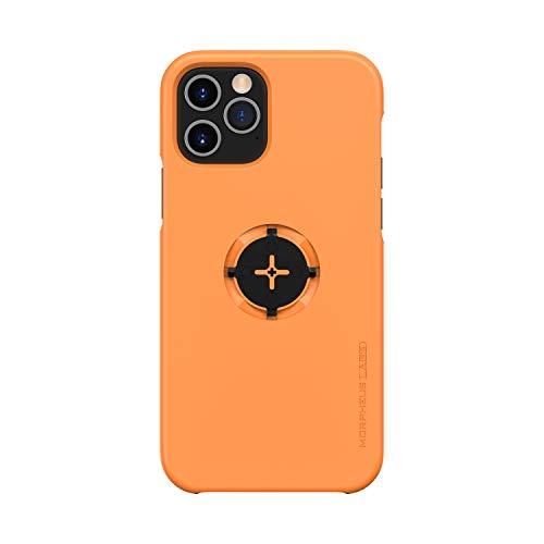 Morpheus M4s Case für Apple iPhone 12/12 Pro Hülle (Nicht für iPhone 12 Mini / 12 MAX) für M4s Halterungen (OHNE Fahrradhalterung) (12 / 12PRO / orange)