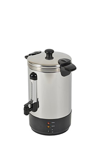 Kitchen Chef ZJ-150 Percolateur à Cafe Professionel 15L Pro 80/100 Tasses Inox