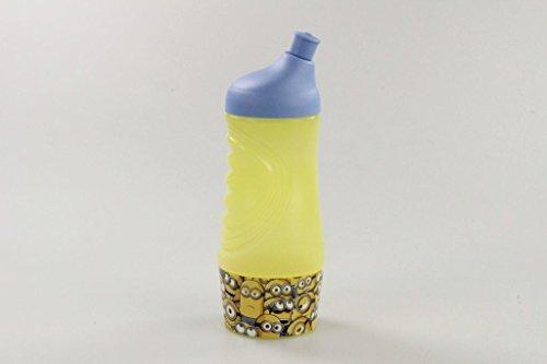 TUPPERWARE 415 ml Minions Sportfreund Flasche Trinkflasche blau gelb 10156