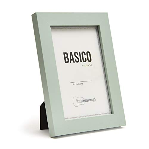 EcoHome 4x6 Picture Frames Sage Green - Made of Wood, for Wall or Tabletop Display