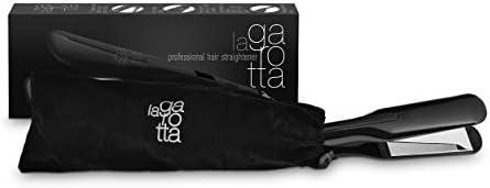 La Garotta Nano Titanium Flat Iron for Hair Professional Hair Straightener 2 inch for Thick product image