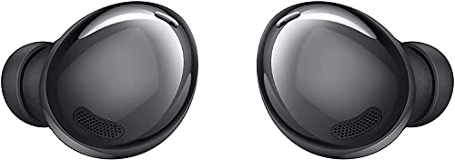 SAMSUNG Galaxy Buds Pro, Bluetooth Earbuds, True Wireless, Noise Cancelling, Charging Case, Quality Sound, Water Resistant, Phantom Black (US Version) (Renewed)