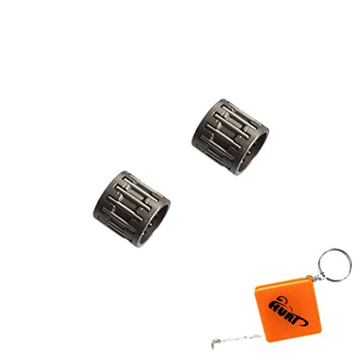 HURI 2x Nadellager passend für Kettenrad Kettensäge Fuxtec CS 3.0, CS 3.6 Timbertech KS5200 MCDillen BM 5200