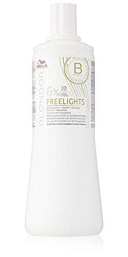 Wella - Blondor Freelights Developer 6% 20 Vol. - Linea Blondor Decoloranti - 1000ml