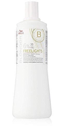 Wella Blondor Freelights 6 prozent Oxidationsmittel, 1000 ml, 1er Pack, (1x 1000 ml)