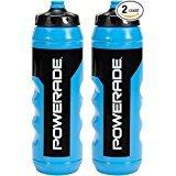 Powerade Quetschwasserflasche, 680 ml, 2 Stück