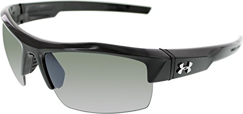 Under Armour Igniter Sunglasses, Black / Gray Polarized Lens, 60 mm