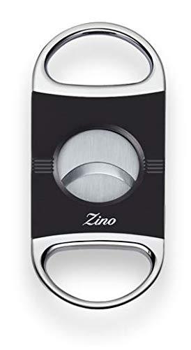 Lifestyle-Ambiente Zino by Davidoff - Tagliasigari Z2, con arco per tastiera, colore: Nero laccato