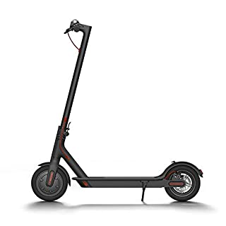 Xiaomi Mi Electric Scooter, 18.6 Miles Long-range Battery, Up to 15.5 MPH, Easy Fold-n-Carry Design, Ultra-Lightweight Adult Electric Scooter (US Version with Warranty) (B076KKX4BC) | Amazon price tracker / tracking, Amazon price history charts, Amazon price watches, Amazon price drop alerts