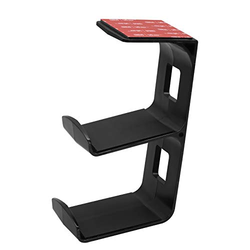 Universal Game Controller Standhalter, TIUIHU Under Desk Dual Gamepad-Halter, Halterung für Xbox One, Serie X, PS5, PS4, PS3, Switch