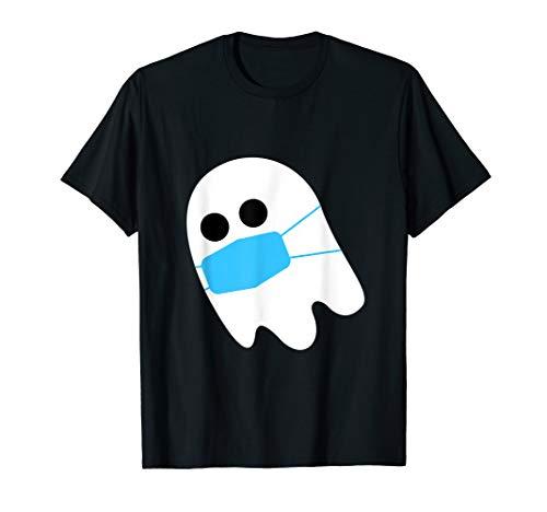 Halloween Geist mit Maske - Gespenst...