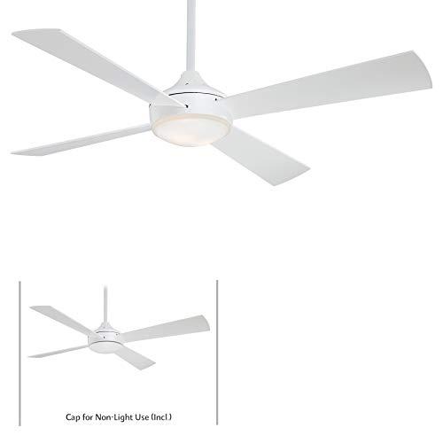 Minka-Aire F521-WHF Aluma 52 Inch Ceiling Fan in Flat White Finish