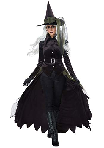 Women's Cool Witch Costume X-Large Black