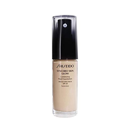 Shiseido Synchro Skin Glow Luminizing SPF 20 Flüssige Foundation 05 Rose, 30 ml