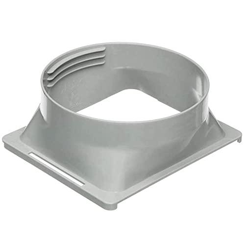 Conector de Manguera de Escape de Aire Acondicionado portátil de 5.8 Pulgadas, Adaptador de Ventana de Aire Acondicionado (Cuadrado a Redondo), FNAM461