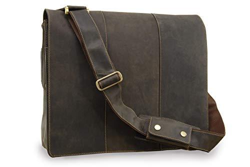 VISCONTI - Leder - Laptop-Tasche - Extra große 17