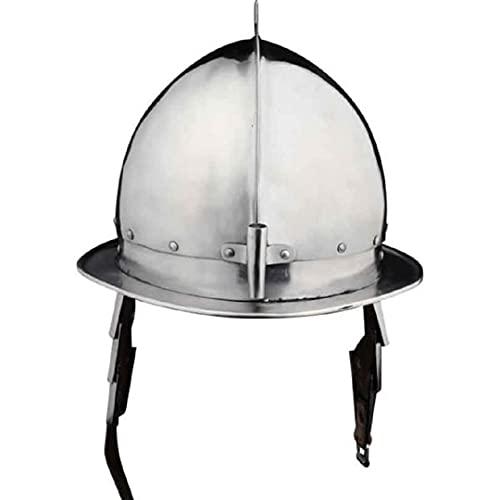 Casco Pikeman del siglo XVII armadura medieval del caballero renacentista
