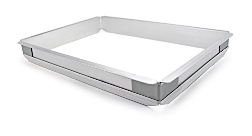 Best Buy! New Star Foodservice 42580 Aluminum Sheet Bun Pan Extender, 13 x 18 inch (Half Size)