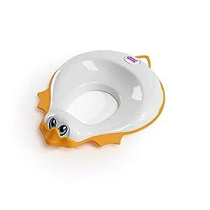 OKBABY Ducka - Réducteur de Toilette pour Enfants, avec des Bords Antidérapants - Blanc